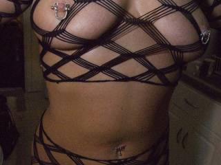 .. very nice , hope you wear it to `cum see `me