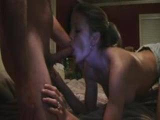 Very hot! Would love to have that talented mouth suck the load from my hard cock!!