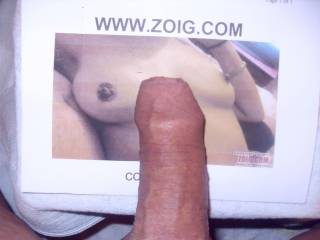 my nice big cock just shot my load over her sweet TITS would you like the same , just let me no with your commente