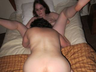 would love to fuck hard her doggy while shes munching on that pussy