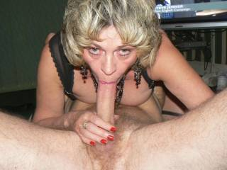 what can you say when your wife performs for the camera with a mouthfull of a friends cock