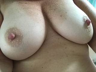 Perfect tits...just need to be covered with cum!!