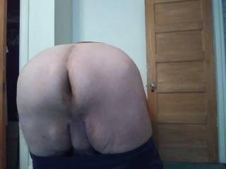 My big bent over butt