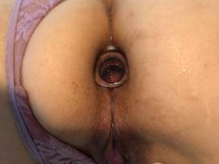 her favorite buttplug!