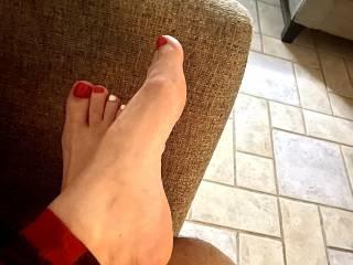 My wife sexy feet