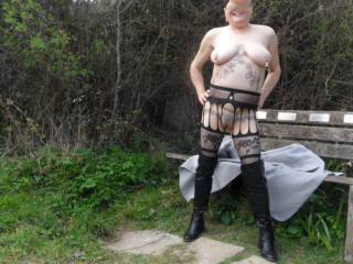 hi all another dare from hubby, he asked I did, and why not dirty comments welcome mature couple