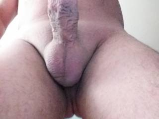 Lick my balls while you rub my cock.  I want to cum all over your lips 😉🍆💦💦💦💦