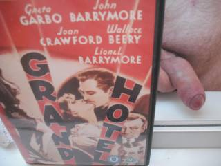 """Just to prove I don\'t ALWAYS watch porn! This is the 1932 pre-Hays Code film where John Barrymore tweaks Joan Crawford\'s bum (disgusting) and Greta Garbo, overacting all over the place, acrually does say """"I want to be alone""""."""