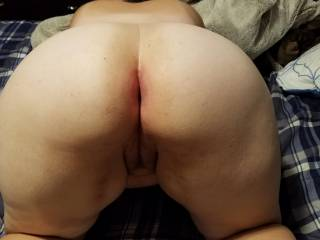Who Wants To Fuck My Wife Doggy?