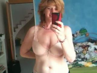 Showing me those sweet milf tits