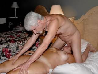 Final pic of our encounter. Note my massage of her face with my penis. From this position I gave her oral sex.  She must've really liked it, since tho our time was up, and even tho we'd only contracted for HER massage, she gave the BEST BJ ever--no condom