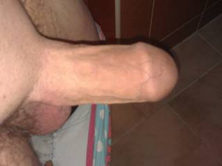 My cock all ready to be sucked...anybody want to make me all hard....