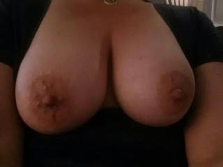 Those are very lovely. I wanna play with those nipples all night