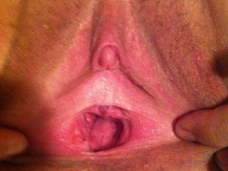 Thick curved cock left huge Load and hole