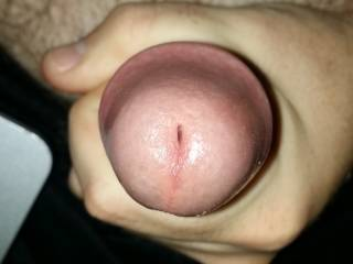 Just a closeup pic of my cock head
