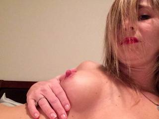 I love you…. Very sexy Your body got me hot wet and throbbing. You are so hot and sexy! I want to lick and suck your luscious clit til you cum over and over. Then slide my hard long thick swollen dick in there. I would like to sink my cock inside you and squirt my cream on top of you. I would love to have you at the same time in double penetration You are wonderful.  Thank you for your nice to see. Your man is lucky.