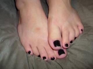 my wife's beautiful feet