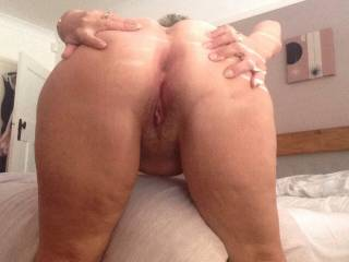 Fab! Love to get my tongue deep up her ass hole!