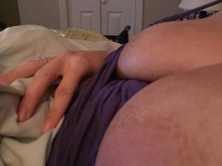 wife's tits