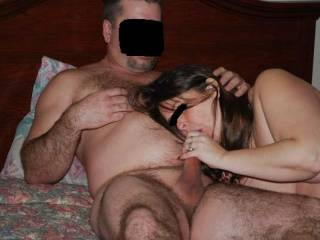 wife sucking cock while getting her pussy eaten