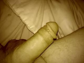 Very nice big fat uncut cock. Very suckable