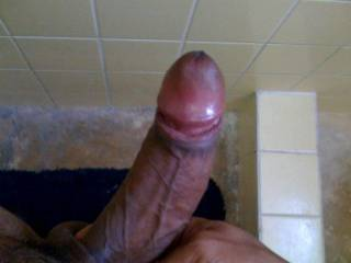 mmmmmmm. Awesome cock man. I'd love to suck the cum right out of it until my mouth and face are covered in your creamy goodness.  :::::::::::::D OO
