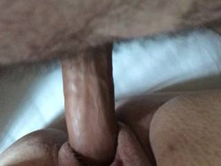 My cock in her pussy
