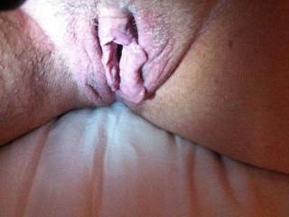 look how big my pussy gets when I,m horny