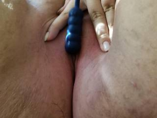 covered in her pussy juice