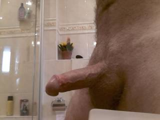 I think I really want to submit to that Handsome Hard Cock of yours: worship it and feel your Hot dominating male power in my mouth and throat