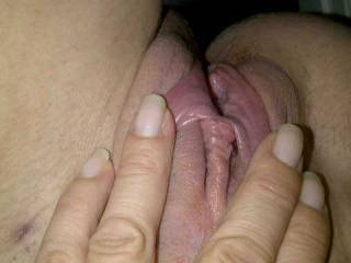 I would like to suck her clit and those lovely pussy lips,and have her pussy lips wrapped around my cock.thanks for sharing