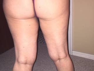 How I would love to bend you over and slide your panties to the side and then drive my cock so deep into you!!