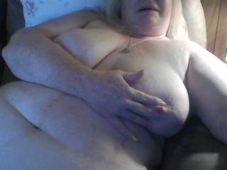Love to roll them with my fingers as lick on your hot pussy mmm