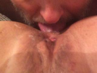 This makes his dick rock hard, and my pussy dripping wet! Who wants to fuck 'me both? Any takers?