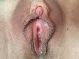 creamy, hot, ready for a good fuck