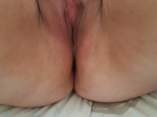 old pic of a fb's spread pussy wanting cock