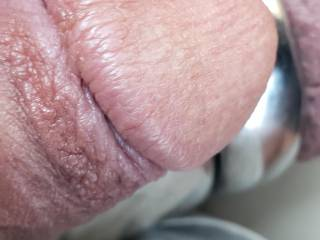 close up of my cock