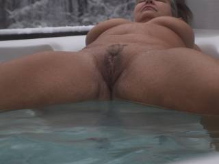 Like to play in the hot tub?