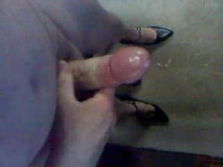 amazing cumshot! would love to see more clips of you in those sexy heels, and maybe even some sheer stockings too!