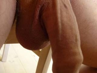 Wow! Very nice...would be so hot watching you slide that big lovely cock deep inside my wife's pussy till your balls slap her ass!  ;-)