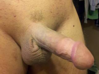 I have that same haircut love the shaved cock i always leave a little patch my girlfriend likes that.