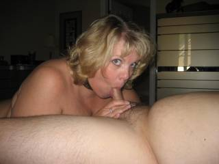 WOW! ... no, make that a TRIPLE WOW!!! ... the porno scenario for this pic is outstanding, as well as the pic itself. She looks absolutely fantastic, and the dude's cock is nice and fat .. goes into my Blow Jobs collection, straight to the no.1 spot. Thanks for posting.