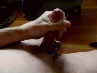 I'd like to stroke your cock and make it cum like that.