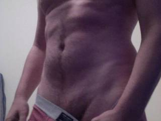 getting naked for you