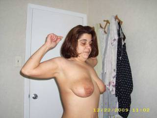 Luv her magnificent big sexy tits!  WoW she is hot!