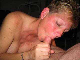 Bet she is good at sucking cock.  How is she at eating pussy?