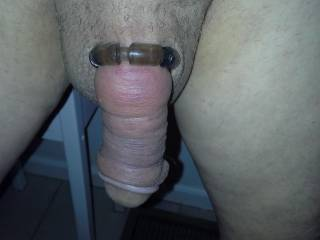 A Happy Cock After Pumping. Might need to pump some more. I like it when Im swollen when I get soft again.
