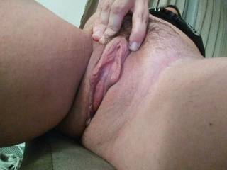 Quick pic before I left for work. It\'s a little creamy too