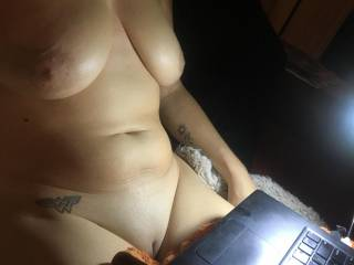 A late night on zoig, showing off my freshly shaved pussy. did you see me?