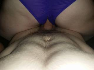Mrs got a new pair of crotchless knickers so had to put them to good use don't you think?